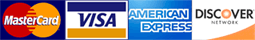 VISA/MasterCard/American Express/DISCOVER