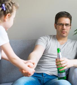Dad Drinking